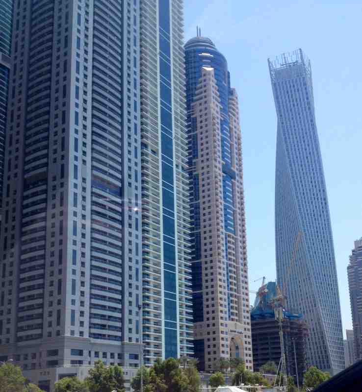 Damac Residenze Actual Location