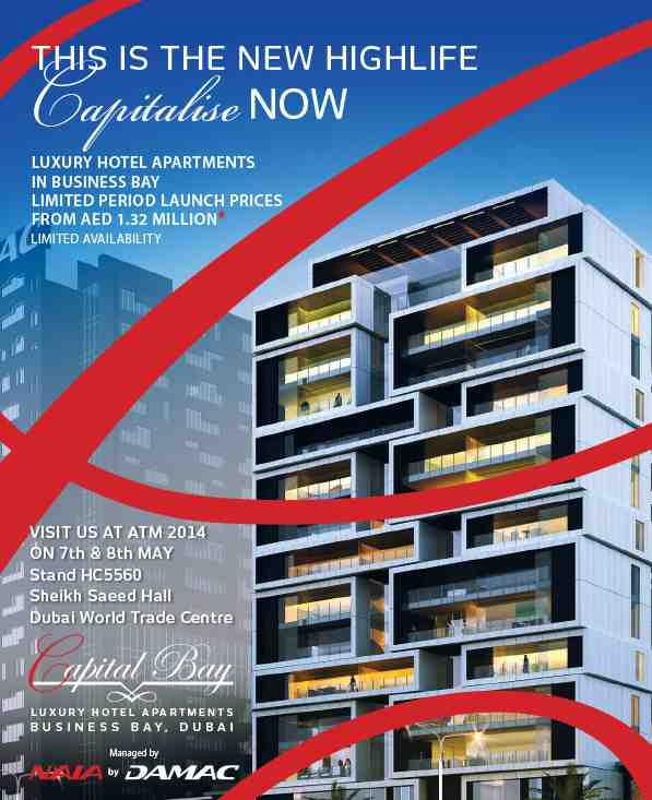 Invest in the High Life. Capitalise Now with Capital Bay, Luxury Hotel Apartments