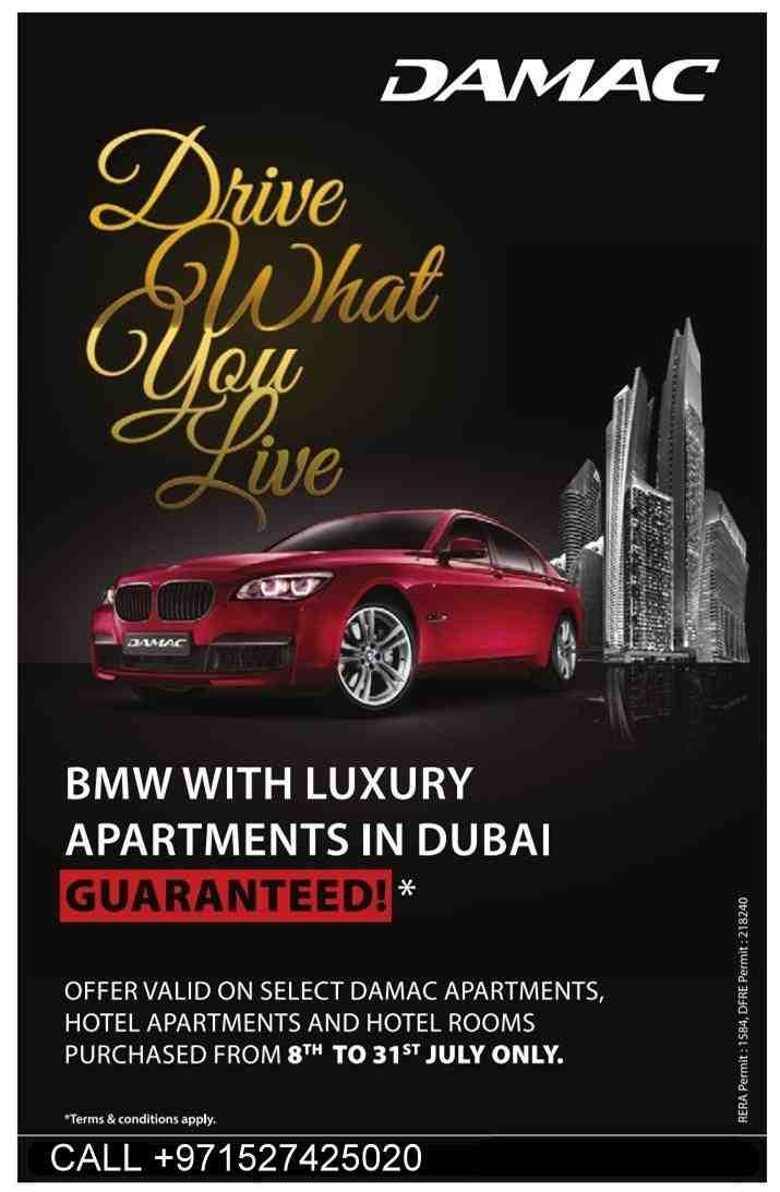 damac bmw car offer