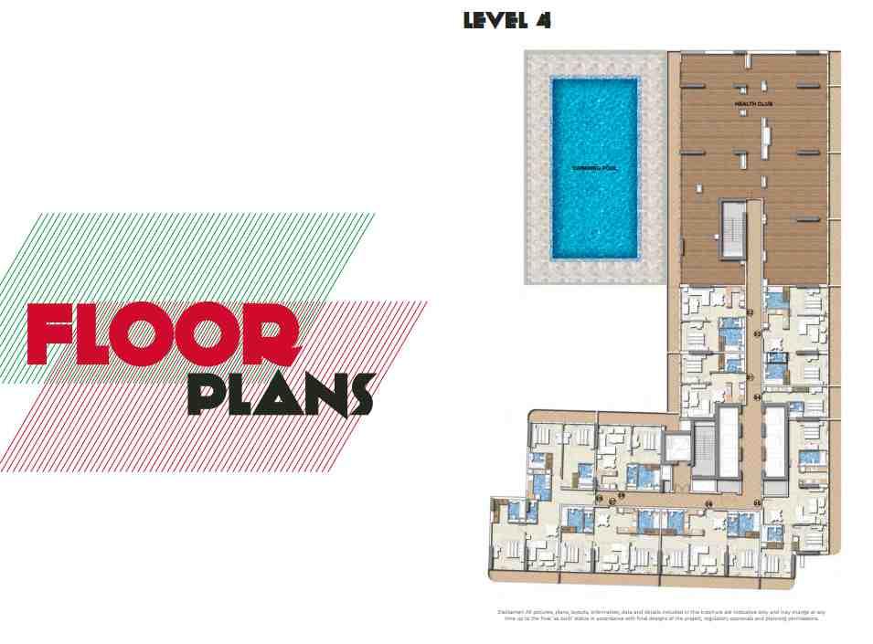 DAMAC Properties - MERANO TOWER Business Bay floor plans Dubai
